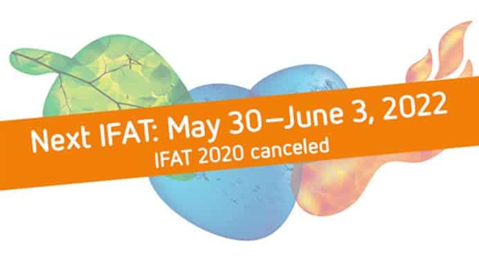 IFAT 2020 cancelled
