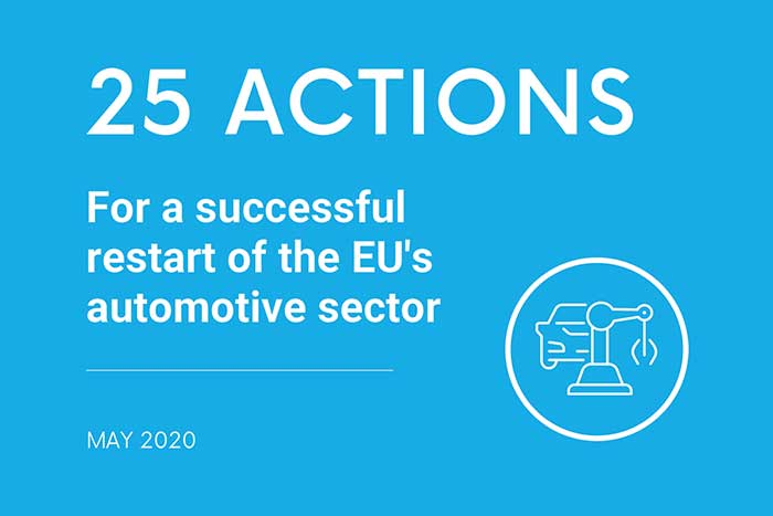 25 actions for EU automotive sector restart success post