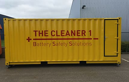 Battery Safety Solutions, provides us with his views on the risks surrounding EV batteries storage container