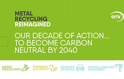 EMR to achieve net zero emissions by 2040 four