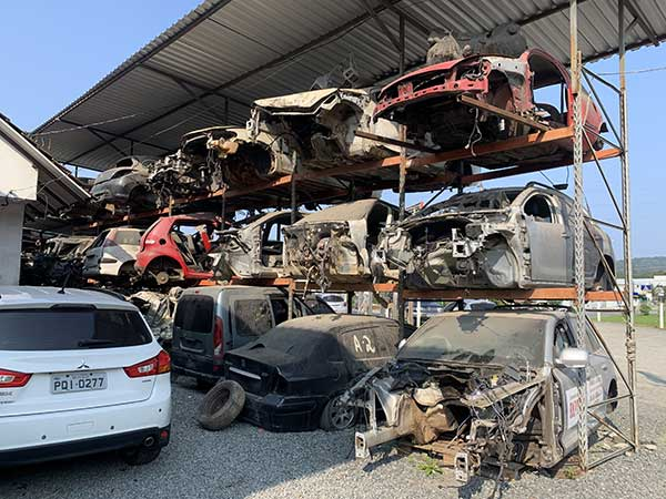 Facing up to COVID - the effect on the Brazilian auto recycling industry p three