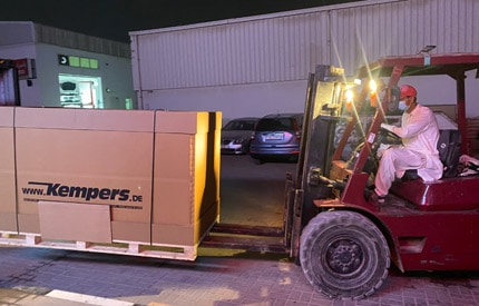 Autorecycling Kempers GmbH - new venture in the UAE feat four two