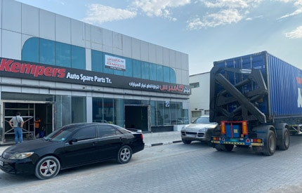 Autorecycling Kempers GmbH - new venture in the UAE feat four