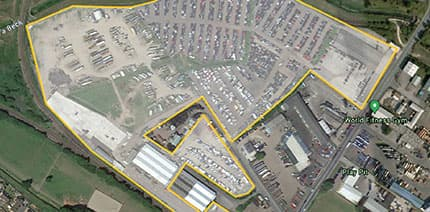SYNETIQ, the largest UK-owned salvage and vehicle recycling company, to expand their North England site by 25 acres