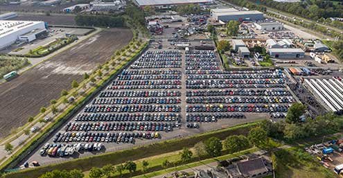 The Netherlands Van der Ven Autorecycling – offering self-service and more