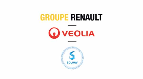 Groupe Renault, Veolia and Solvay join to recycle end of life EV battery metals in a closed-loop p one