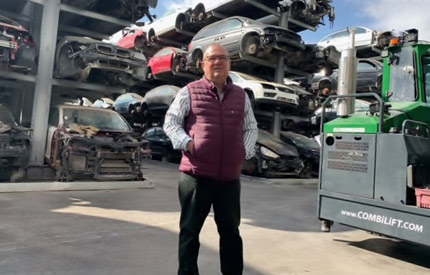 Spain - one man's auto recycling journey feat four