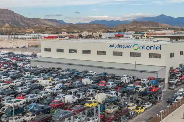 Spain - one man's auto recycling journey p five