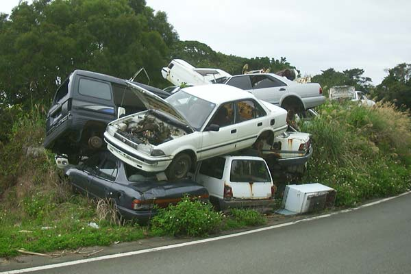 The Japanese automobile recycling system - is it a success? p three