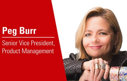 IAA Names Peg Burr as SVP of Product Management f four