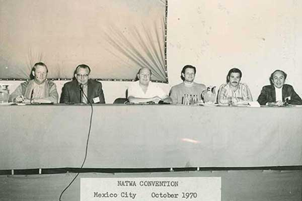 NATWA convention in Mexico City, 1970 re