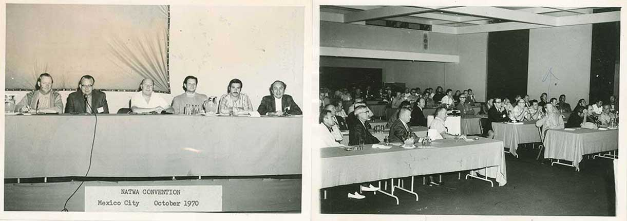 Vander Haags NATWA Convention, Mexico City, 1970