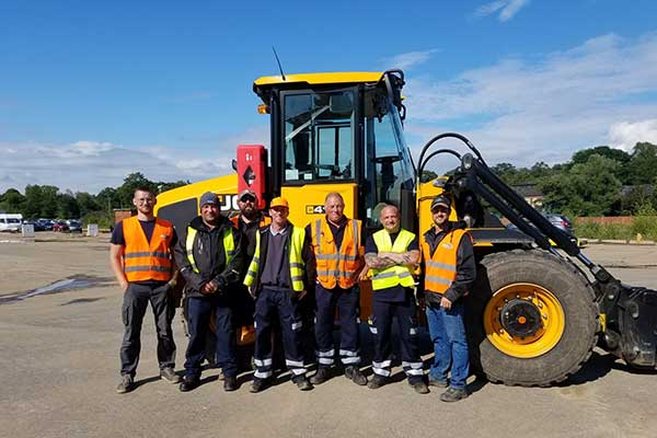Copart UK's Surge Management Team Supports Severe Flooding in Germany p two