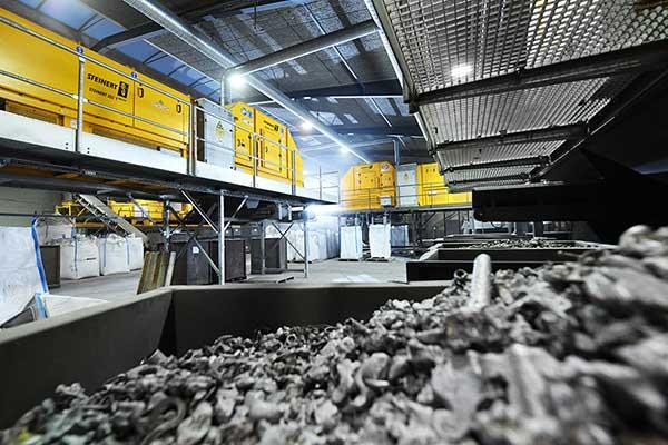 Sorting technology turns aluminium green p image two