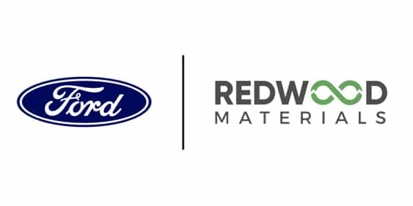 Redwood Materials and Ford Motor Company Announce Strategic Relationship p