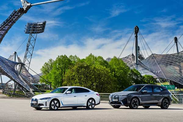 The BMW Group emphasizes its consistent focus on sustainability p four